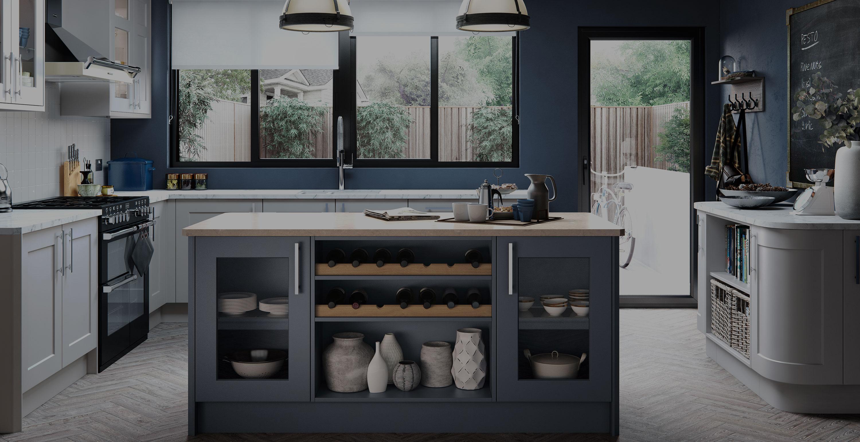 Nice Bespoke Kitchen Design Fitter Halifax Showroom